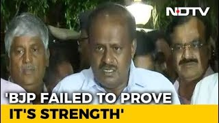 Kumaraswamy Stakes Claim To Form Government, Swearing In On Monday - NDTV