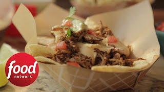 Damaris' Pulled Pork Nachos | Food Network - FOODNETWORKTV