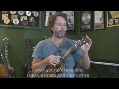 Ukulele lesson #1 Anatomy of the uke, right & left hand technique - Uke Lessons for Beginners -zhm0DR9lVIM