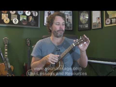 Ukulele lesson #1 Anatomy of the uke, right & left hand technique - Uke Lessons for Beginners -zhm0DR9lVIM
