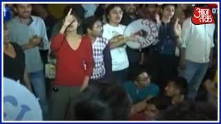 JNU में हंगामा थमता ही नहीं! JNU में तार-तार हुए गुरु-शिष्य के पाक रिश्ते! - AAJTAKTV
