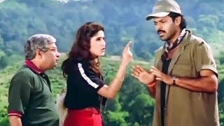 Venkatesh Makes Anjali Fool And Run Away With Her Luggage - LEHRENTELUGU