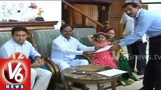 CM KCR and his family members gave their details for Survey - V6NEWSTELUGU