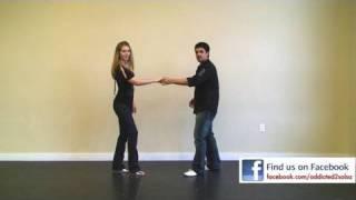 Salsa Basic Step with Swing
