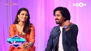 Kajol & Riddhi Sen on fashion choices | Zoom Weekender Statement - ZOOMDEKHO