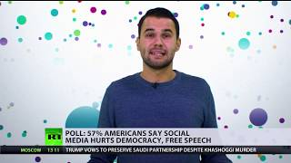 More than half of Americans say social media hurts democracy & free speech - RUSSIATODAY