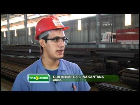 TV Indústria: Conheça o mercado de trabalho para quem cursa Mecatrônica no Senai-MT 16/05/2011