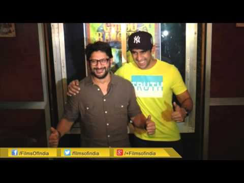 Arshad Warsi Spotted At Gaiety Cinema Hall