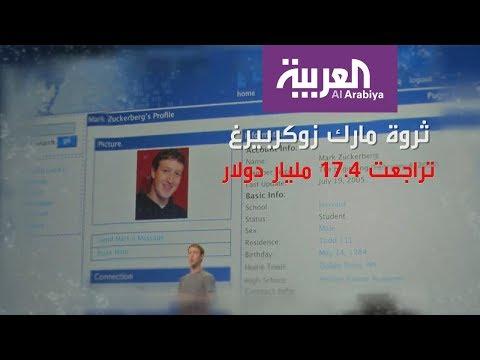 خسائر بالمليارات لمؤسس فيسبوك