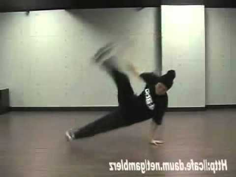 BBOY THE END Flare SlowMotion