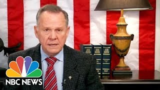 Roy Moore Refuses To Concede, Blames 'Baseless And False Allegations' | NBC News - NBCNEWS