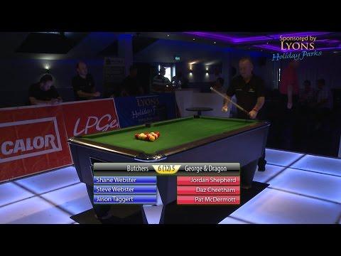 Kenny Cahill Super 3s Semi-Final 2014