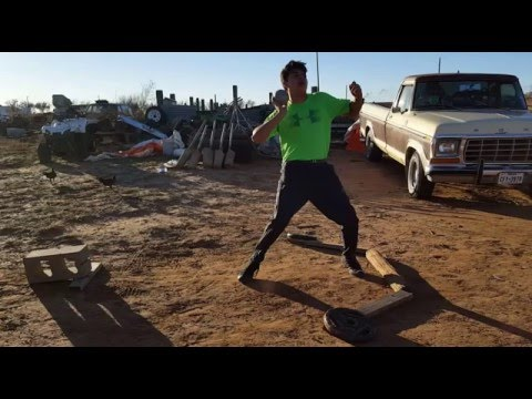 Randy Juarez Video Analysis - Glide Shot Put