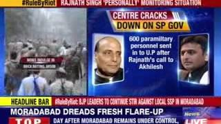 Violent clashes break out in Saharanpur District, curfew imposed - NEWSXLIVE