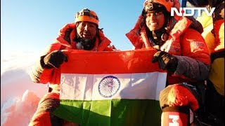 First Indian Father-Daughter Duo To Climb Mount Everest - NDTV