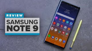 Samsung Galaxy Note 9 Review - CNETTV