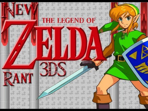 Rant: New Legend Of Zelda 3Ds Game.  Link to the Past Prequel or Sequel?
