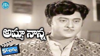 Amma Nanna Movie Scenes - Krishnam Raju Receives Shashi's Letters || Raja Babu - IDREAMMOVIES
