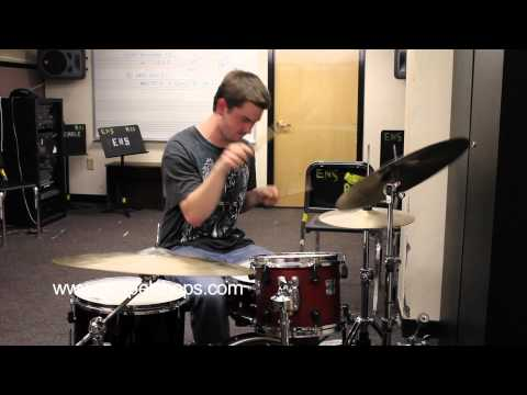 """The Berklee Files"" @ GospelChops.com featuring Matthew Garstka on drums (HD)"