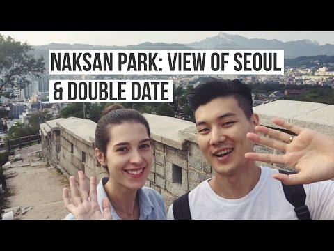 NAKSAN PARK View of Seoul & Double Date | (자막 CC) 규호와 세라 낙산공원과 국제커플 더블데이트