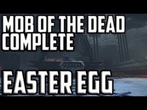Mob of the Dead Easter Egg in nur 5 Minuten! [German/ HD]