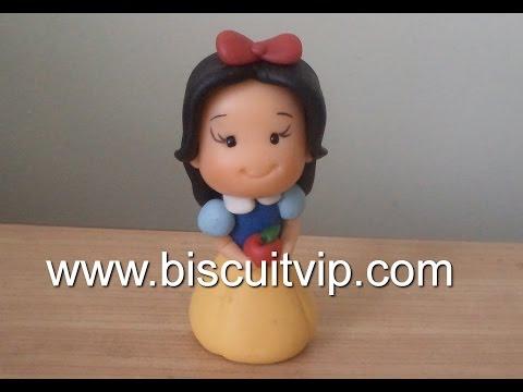 Baby Princesas Disney - Branca de Neve - Canal Aula de Biscuit