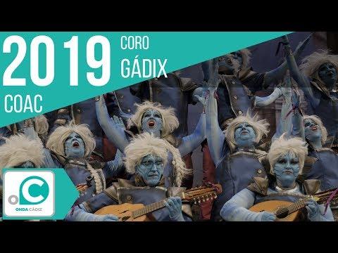 Sesión de Preliminares, la agrupación Gadix actúa hoy en la modalidad de Coros.