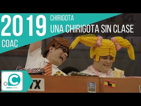 La agrupación La comparsa del guía llega al COAC 2019 en la modalidad de Comparsas. Primera actuación de la agrupación para esta modalidad.