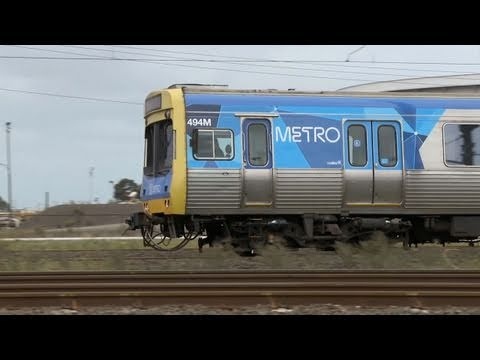 Vline and Metro Trains Melbourne near Laverton - Australian Passenger Railways