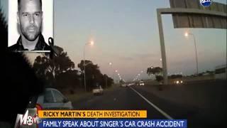 شاهد حادث سيارة ريكي مارتن والذي كان السبب فى اشعة وفاتة