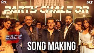Party Chale On Song Making - Race 3 Behind the Scenes | Salman Khan | Mika Singh, Iulia Vantur - TIPSMUSIC