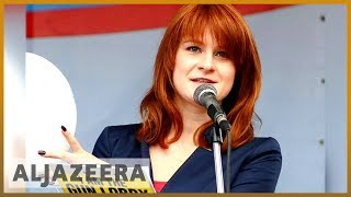 🇷🇺Russian spy Maria Butina pleads guilty in US court l Al Jazeera English - ALJAZEERAENGLISH