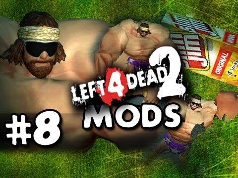 MACHO MAN THROWS SLIM JIMS - Left 4 Dead 2 Mods Questionable Ethics w/Nova Sp00n & Kootra Ep.8