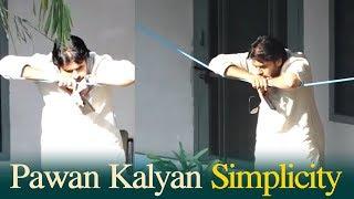 Pawan Kalyan Simplicity |  Pawan Dham Ashram At Haridwar - TFPC