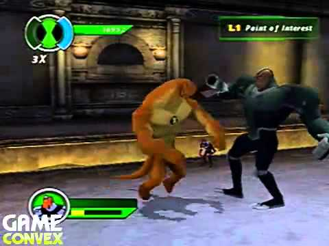 PS2 Walkthrough Ben 10 Ultimate Alien Cosmic Destruction