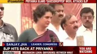 Priyanka Gandhi's most direct attack on Modi - NEWSXLIVE