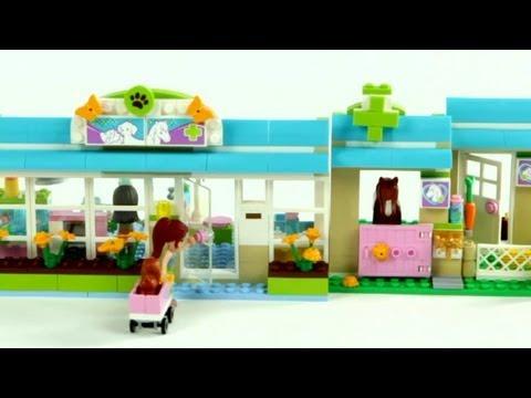 LEGO Friends Heartlake Vet – Muffin Songs' Oyuncakları Tanıyalım