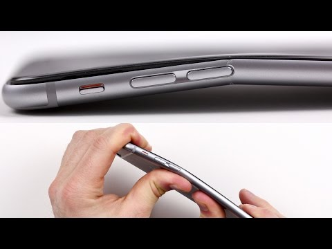 iPhone 6 Plus Bend Test