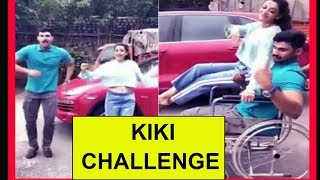 Actress Kajal Aggarwal Kiki Challenge With Bellakonda Srinivas Funny Video - RAJSHRITELUGU