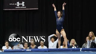 College gymnast's perfect routine goes viral - ABCNEWS
