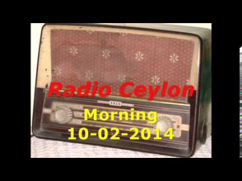 Radio Ceylon 10-02-2014~Monday Morning~03 Purani Filmon Ka Sangeet