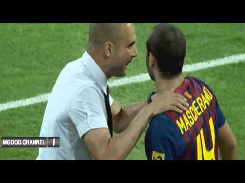 Real Madrid vs Barcelona ( 2-2 ) All Goals Highlights Spanish Super Cup 2011