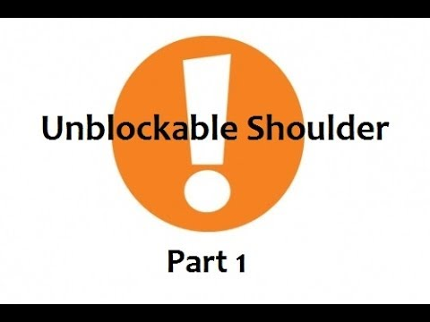 TTT2: Unblockable Shoulder - Defense (1 of 2)