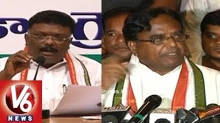 T Congress Leaders : God to Save Telangana from TRS - V6NEWSTELUGU