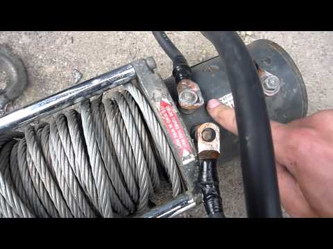 Rewiring and Troubleshooting a Warn M8000 Winch - Part 1