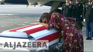 Trump denies offending widow of soldier killed in Niger - ALJAZEERAENGLISH
