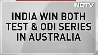 MS Dhoni Special Gives India 1st Bilateral ODI Series Win In Australia - NDTV