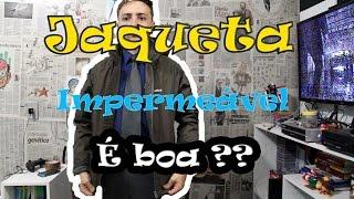 Unboxing e Review Dafiti - Jaqueta Zebra Imperme?vel melhor que aliexpress