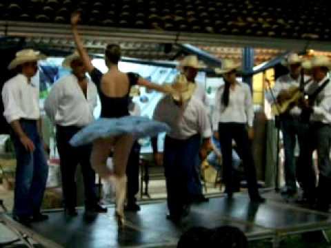 Catira Tradição - A bailarina e o lundu