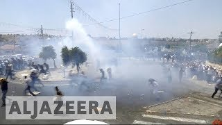Protests rage over al-Aqsa - ALJAZEERAENGLISH